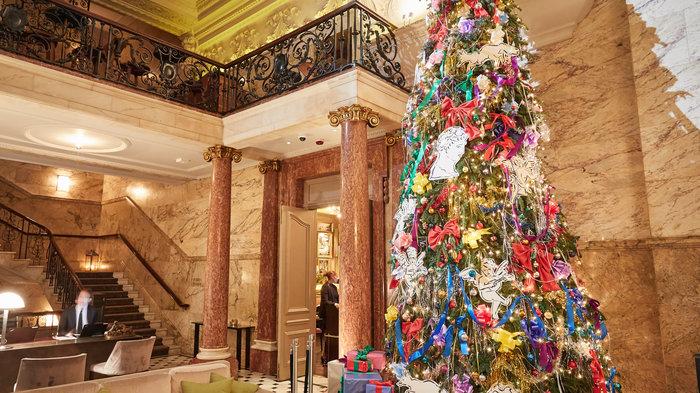 The London Edition's Christmas Tree