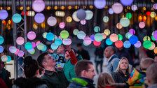 Eccleston Yards: Chromotherapy Christmas