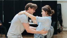 Lungs - Matt Smith and Claire Foy in rehearsals at the Old Vic by Manuel Harlan