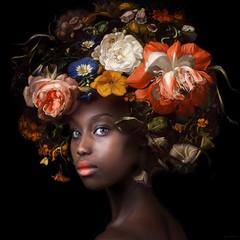 Affordable Art Fair Battersea - Yvonne Michiels, Fading Flowers Peach, Photography, edition of 15, 125 x 125cm, £4,400, De KunstSalon