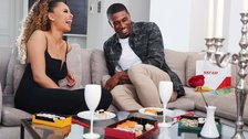 Just Eat Ultimate Love Island Date Night - Love Island 2019 champion Amber Gill and Ovie Soko