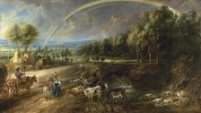 Rubens: Reuniting the Great Landscapes - Peter Paul Rubens, The Rainbow Landscape, c. 1636 © The Wallace Collection, London