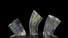 International Art Fair for Modern Craft & Design: Collect 2020 - Kaja Upelj, QEST - Subtle Flow Group Glass 2018