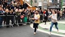 Better Bankside Pancake Day Race